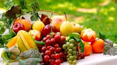 A series of frozen fresh and exotic fruits and vegetables for a healthy living