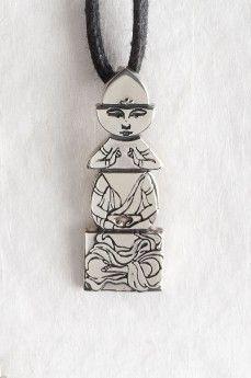 BUDDHA pendant by MyKi, silver Подвеска BUDDHA by MyKi, серебро