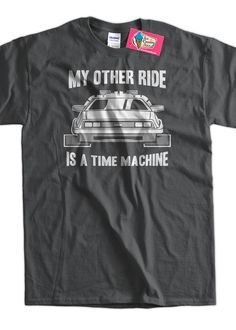 Hey, I found this really awesome Etsy listing at http://www.etsy.com/listing/125486017/back-to-the-future-t-shirt-delorean-time