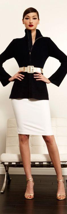 (1) St. John | *♔ Couture ♔ Blanc & Noir | Pinterest