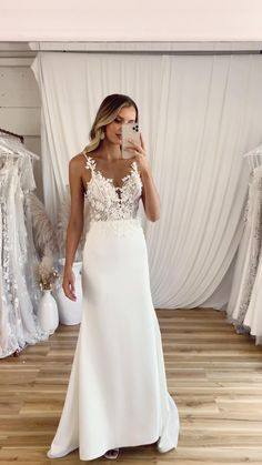 The MORGAN gown by Madi Lane Bridal – Thrifted wedding dress Wedding Dress Black, Wedding Dress Sleeves, Elegant Wedding Dress, Dream Wedding Dresses, Bridal Dresses, Wedding Navy, Gown Wedding, Couture Wedding Dresses, Klienfeld Wedding Dresses