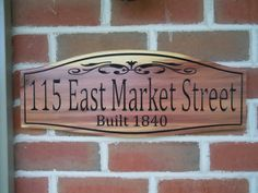 Hey, I found this really awesome Etsy listing at https://www.etsy.com/listing/189907569/address-sign-personalized-wooden-carved