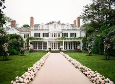 A Multi-Day Wedding in the Hamptons and France: Photos
