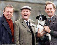 The actor Robert Hardy, who has died at the age of is remembered for his role as the Yorkshire vet Siegfried Farnon in the BBC TV series based on James Herriot's bestselling books. Period Drama Movies, British Period Dramas, British Comedy, British Actors, James Herriot, Peter Davison, The Yorkshire Vet, Yorkshire Dales, Yorkshire England