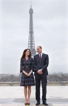 Paris mini-tour March 18, 2017. Kate in Chanel.
