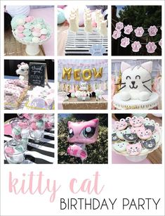 kitty cat birthday party! #CatBirthday