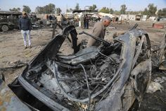 Deadly Baghdad car bomb claimed by Islamic StateThe death toll...  Deadly Baghdad car bomb claimed by Islamic State  The death toll from a car bomb attack in a southern Baghdad neighborhood has reached 59 with 66 others injured a police officer and medical sources said Friday.  Authorities initially said the Thursday attack at an auto dealership in the al-Bayaa neighborhood killed at least 55 and wounded more than 60. The Islamic State group claimed credit for the bombing.  The officials…