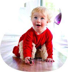BABYMOP / Wischmop + Strampler = Babymop! Lustiger Strampler, rot, top Geschenk