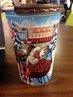 Festiveness Tim Hortons holiday cup 2013