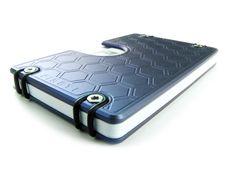 Omega - Compact Solid Titanium Wallet by Gregory Venters, via Kickstarter.