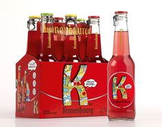 K by Kronenbourg received a Prize in the Branding Packaging category at the Grand Prix Stratégies du Design 2014.