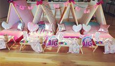 Jojo Siwa themed Slumber Party Indoor Camping Parties, Slumber Parties, Sleepover, Jojo Siwa, Childrens Party, 8th Birthday, Flooring, Fun, Home Decor