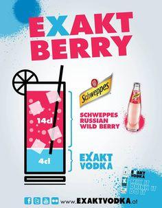 EXAKT BERRY  #EXAKT #VODKA #EXAKTVODKA #PARTY #SCHWEPPES Vodka, Berry, Calm, Gallery, Artwork, Blueberry, Work Of Art, Roof Rack