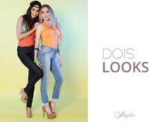 Para compor seu look trouxemos duas opções de looks com jeans maravilhosos da marca que foi feita para você!