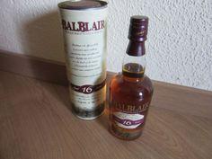 1 ältere Flasche Single Malt Scotch Whisky - Balblair 16 Jahre, 40 % vol Scotch Whisky, Candle Jars, Candles, Whiskey Bottle, Alcohol, Wine, Drinks, Ebay, Vintage Bottles