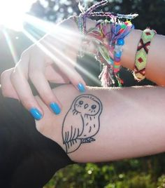 Owl tattoo designs have been popular for its symbolic meanings. Some of popular owl tattoos are barn, tribal, on chest, old school, skull. - Part 4 Music Tattoo Designs, Owl Tattoo Design, Tattoo Designs And Meanings, Henna Designs, Art Designs, Love Tattoos, Tattoo You, Body Art Tattoos, Tattoos For Guys