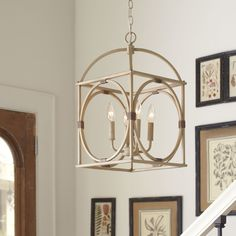 Birch Lane Chesapeake 4 Light Candle-Style Chandelier & Reviews | Wayfair