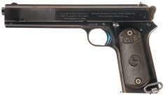 Desirable Early Colt Model 1902 Military Pattern Semi-Automatic Pistol cal 38 Colt auto. Estimated Price: $2,500 - $3,750