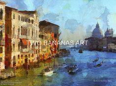 142 Grande Canal Venice by Richard Neuman Digital Media ~ 18 x 24