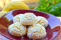 Ραγισμένα μπισκότα λεμονιού, χωρίς γλουτένη Muffin, Food And Drink, Gluten Free, Snacks, Cookies, Baking, Breakfast, Desserts, Recipes