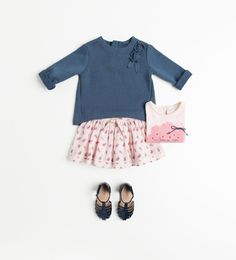 Baby girl spring outfit from Zara