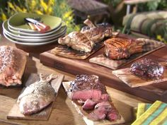 How to Grill With Planks : Food Network - FoodNetwork.com