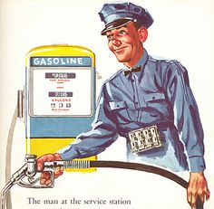"From Esso's 1957 book, ""What Makes a Car Go?"""