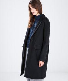 SESSUN Harry Jacke black Coat | Mantel | kaufdichgluecklich-shop.de