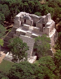 aerial Chacchoben Ruins - Bing Images
