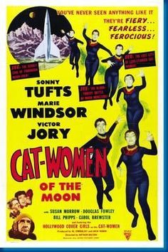 Catwomen Of The Moon Movie Poster 24inx36in