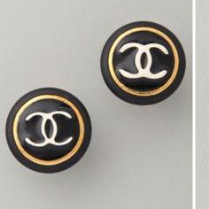 vintage - chanel earrings