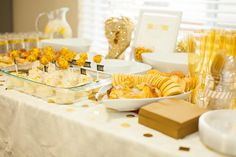Sparkle and Shine Golden Birthday Party with Really Cute Ideas via Kara's Party Ideas KarasPartyIdeas.com #GoldenBirthday #GoldParty #Golden...