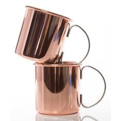 Brouk & Co. Burro Copper Mug ($43) ❤ liked on Polyvore featuring home, kitchen & dining, drinkware, copper mugs, moscow mule copper mugs, copper drinkware, wizard of oz mug and copper moscow mule