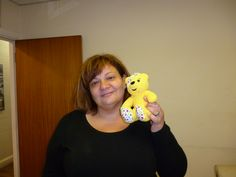 Claire Heller backs the Paul Strank Roofing Photothon and Pudsey! #pudsey #cin #pudseyphotothon