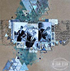 ML Design: Ink, Paint, Stamp & Paper Bliss: September Kraft Plus Challenge