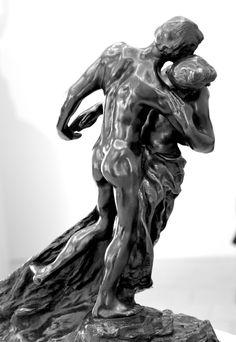 La valse, 1893, par Camille CLAUDEL (1864-1943). Bronze, fonte E. Blot n°5, 1905. Musée Camille Claudel à Nogent-sur-Seine. Photo : Hervé Leyrit ©