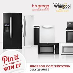Win a Whirlpool Ice Suite (over $3,500 value) with our #HHGPinToWin Sweepstakes! Repin the image then complete the registration form at http://hhgre.gg/15ksQNU!