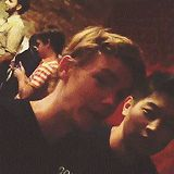 The Maze Runner Ki Hong Lee and Thomas Sangster O MY WORD! Thomas looks like my friends brother in this gif!