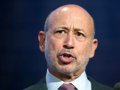 GOLDMAN SACHS CEO: 'The world wants me to be scared to death'