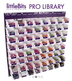 @littleBits Pro Library for #Schools #FabLabs #MakerSpaces #Libraries & More #STEM