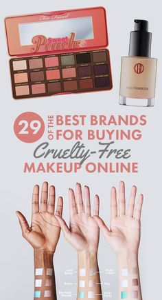 29 Of The Best Cruelty-Free Makeup Brands You Can Get Online