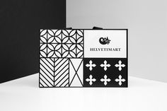 Brand identity, logo and shopping bag by Anagrama for Lausanne-based independent food and speciality supermarket Helvetimart