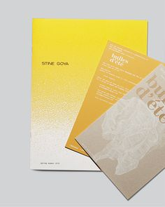 Stine Goya. 2008 - 2014 by Thomas Mau Pedersen, via Behance