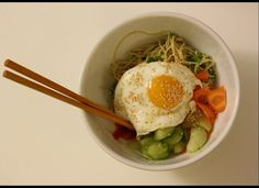 Big Girls, Small Kitchen: Egg-On-Top Meals