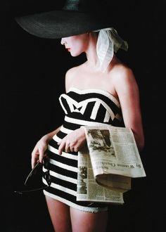 Jean Patchett, photo by Milton Greene, New York City, 1953