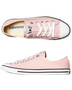 SURFSTITCH - FOOTWEAR - WOMENS FOOTWEAR - SNEAKERS - CONVERSE DAINTY SHOE - IMPATIENS PINK...Maybe with a red bottom. :)