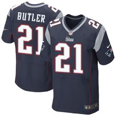 Pro Line Men's New England Patriots Dont'a Hightower Team Color Jersey - Navy Blue