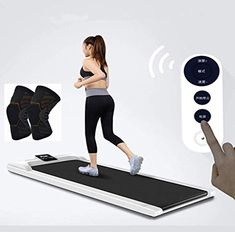GGCL With Remote Control Treadmill Portable Electric Flat Walking Machine Multifunctional Simple Folding Walker for… √ Fell in love with running, it's home ... Electric Treadmill, Indoor Gym, Treadmills, Running Belt, Leaving Home, Fitness Wear, Workout Machines, At Home Gym, Diamond Pattern