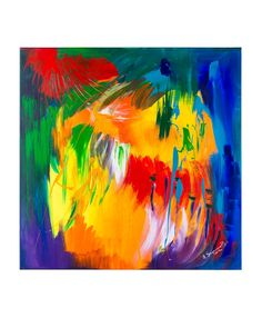"""SPARK!!! 1 A collection ISKRA (SPARK!!!), 2016 r.  Acryl paintings on canvas 39,4H x 39,4W x 0,79in  This collection was inspired by the emotions guiding us in navigating today's dynamic world. """"Spark"""", as the name indicates, is a tiny moment, reflection or a positive change in our life which can become something more than just a spark. It has a potential to turn into a fire.  Autor: Anna Sagermann Bustinza www.facebook.com/aymara.sagermann.bustinza"""