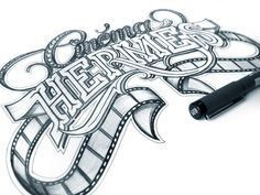 Hand Lettering by Martin Schmetzer, via Behance